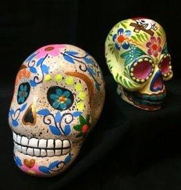 Inter-American Trading Medium Painted Skull Day of the Dead Calaca