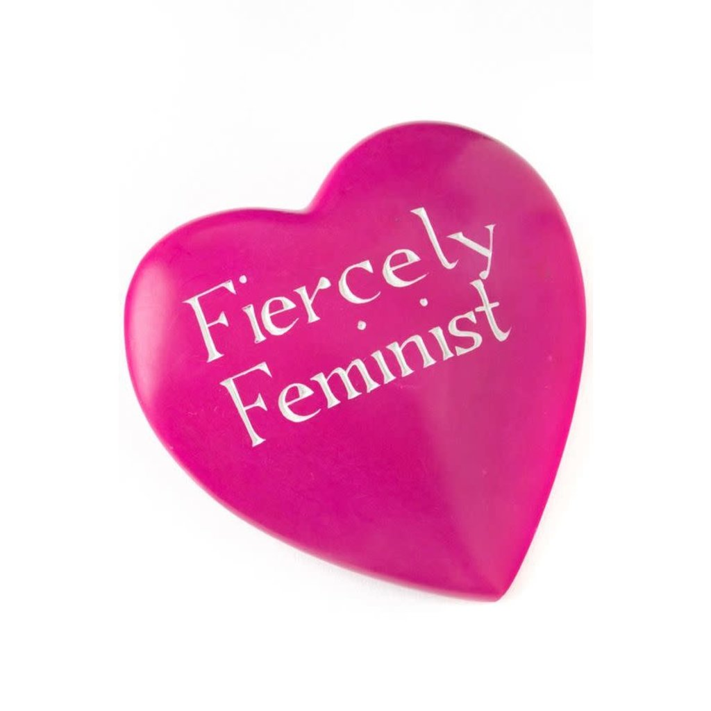 Swahili Imports Wise Words Large Heart: Fiercely Feminist