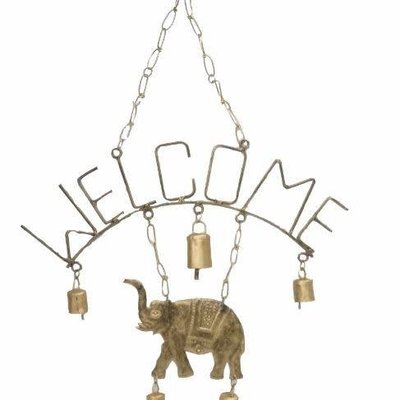 Mira Fair Trade Welcome Elephant Chime