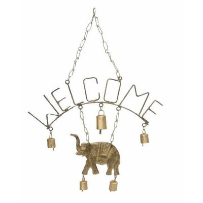 Mira Fair Trade Welcome Elephant Chime