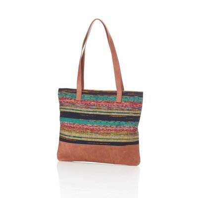 Serrv Sari Sunset Tote Bag