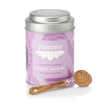 Just Tea Purple Jasmine Tea Tin
