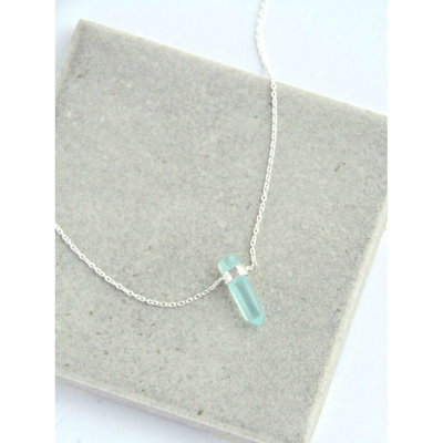 Fair Anita Natural Beauty Chalcedony Sterling Silver Necklace
