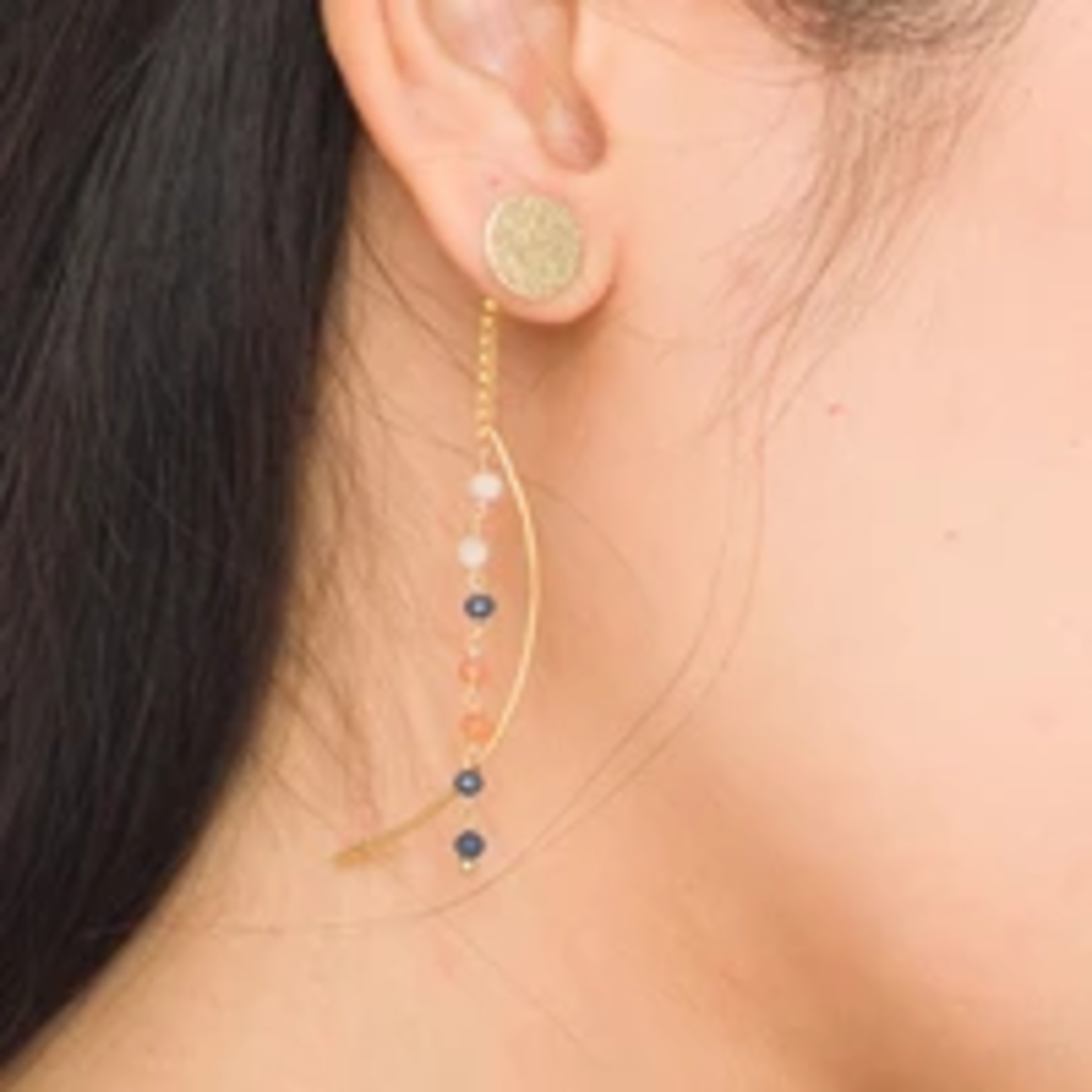 Marquet Fair Trade Nicki Heather Earrings