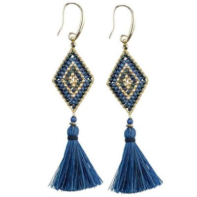 Marquet Fair Trade Nicole Oceana Akha Earrings