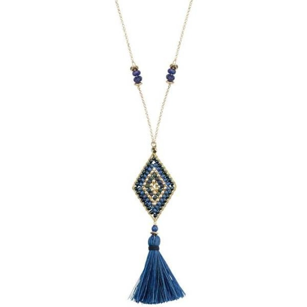 Marquet Fair Trade Nicole Oceana Akha Necklace