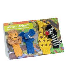 Lucuma Organic Finger Puppet Africa Set