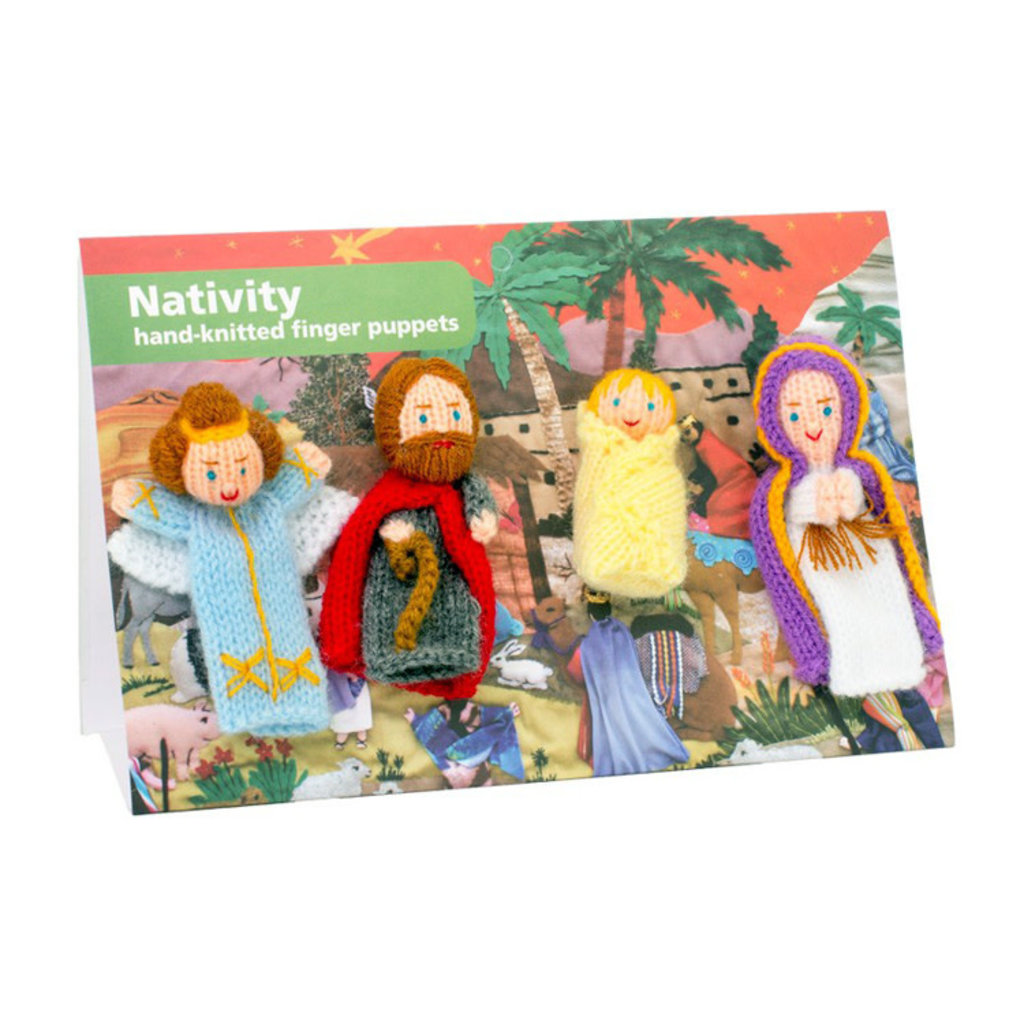Lucuma Organic Finger Puppet Nativity Set
