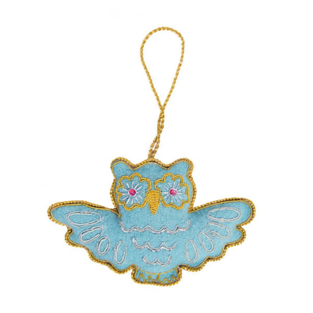 Matr Boomie Owl Larissa Plush Ornament