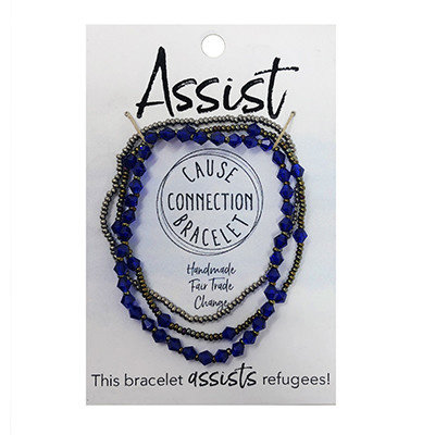 World Finds Cause Bracelet to Assist Refugees