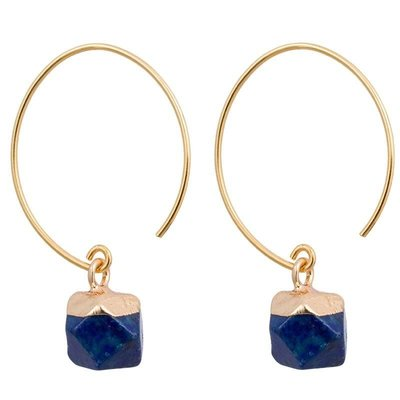 Marquet Fair Trade Clara Deep Sea Earrings