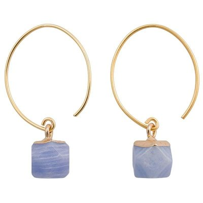 Marquet Fair Trade Clara Elderberry Earrings