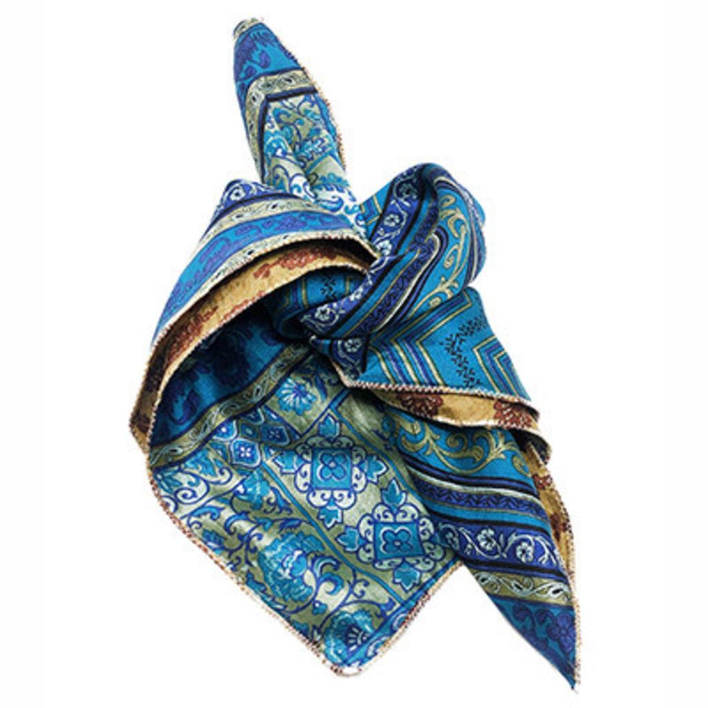 World Finds Sari Chic Silk Bandana