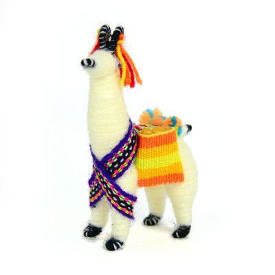 Minga Imports Small Festival Llamas