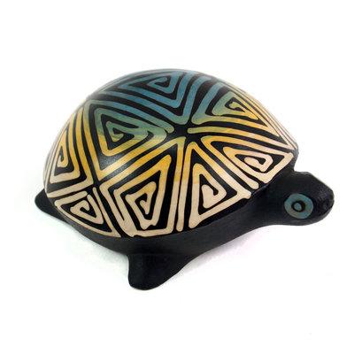 Minga Imports Turtle Chulucanas Figurine