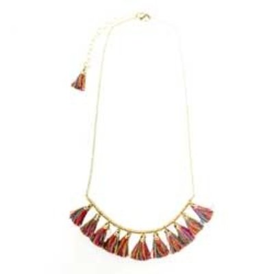 World Finds Raja Tassel Necklace