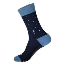 Conscious Step Socks That Give Books: Blue with Glasses Small