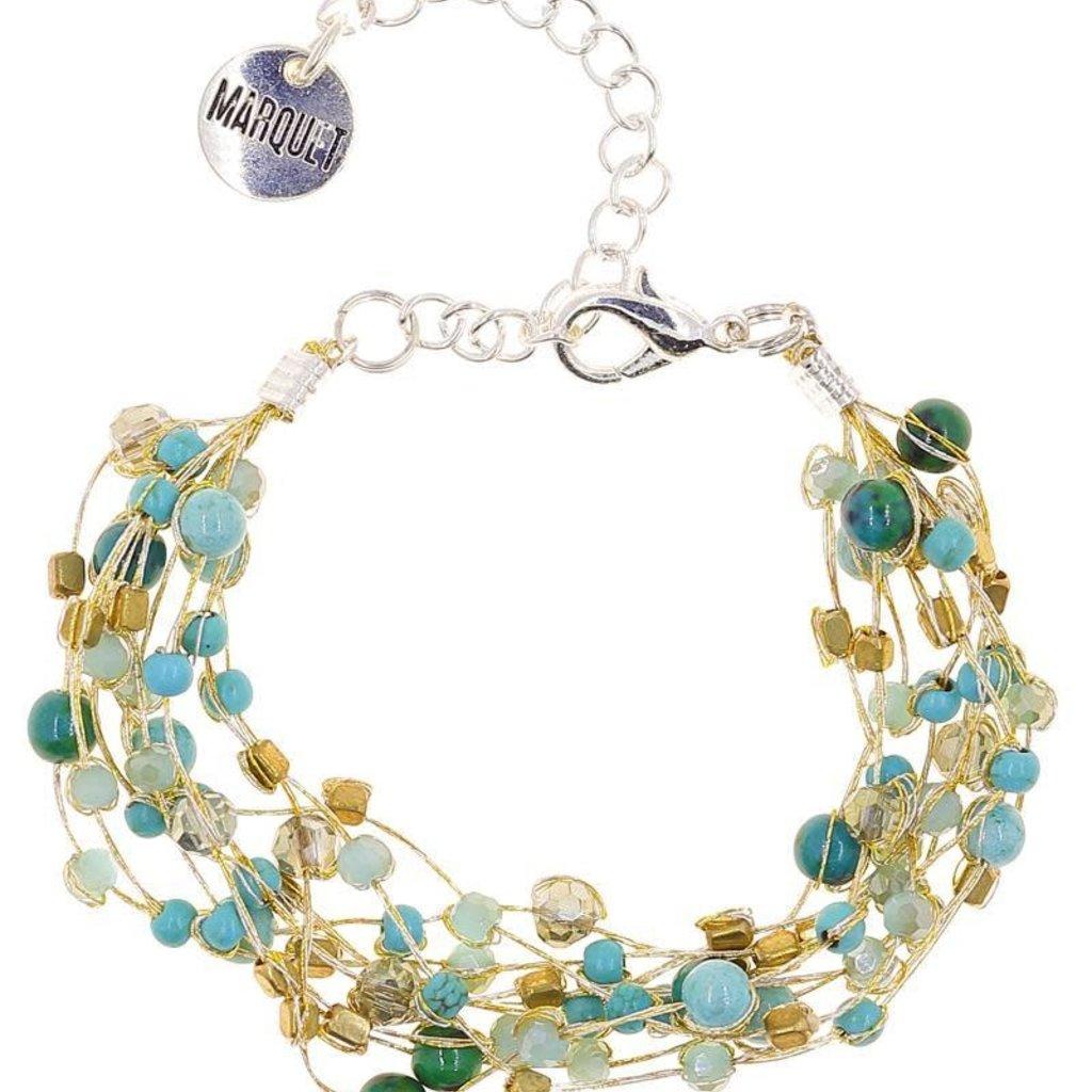 Marquet Fair Trade Reena Lakeshore Akha Bracelet