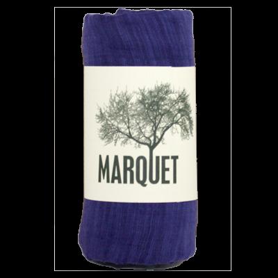 Marquet Fair Trade Violet Binh Minh Silk and Cotton Shawl