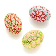 Serrv Quilled Egg in Spring Radiance