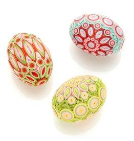 Serrv Quilled Egg in Spring Radiance