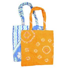 Serrv Sari Pocket Tote Bag