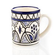 Serrv Blue Jasmine Floral Mug