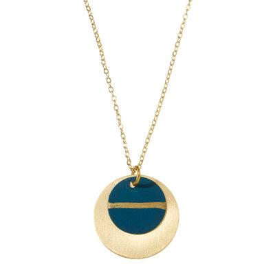 Serrv Nisha Brass Necklace