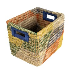 Ten Thousand Villages Wild Style Rectangular Basket
