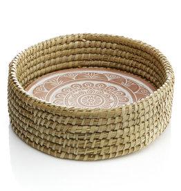 Serrv Mandala Round Bread Warmer