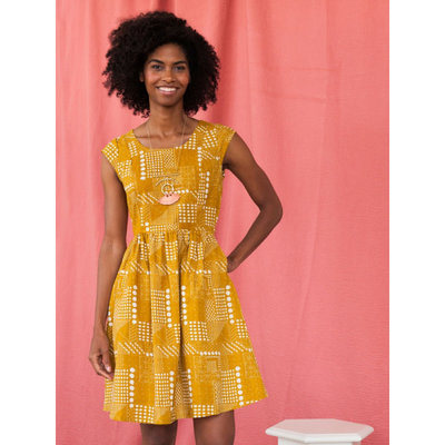 Mata Traders Chilmark Dress Gold