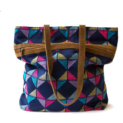 Fair Anita Kaleidoscope Tote Purse