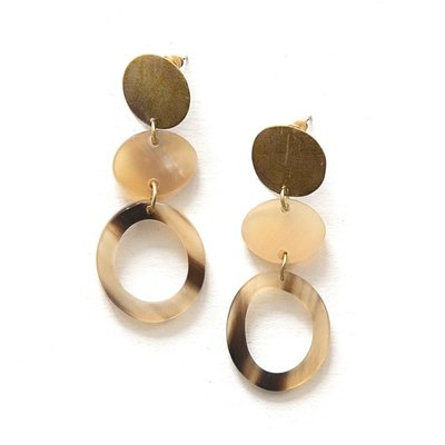 Fair Anita Maverick Horn Earrings