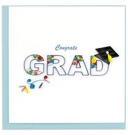 Quilling Card Congrats Grad Quilling Card