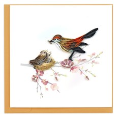 Quilling Card Baby Birds Quilling Card
