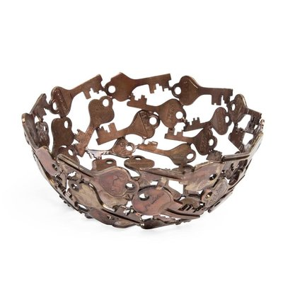 Ten Thousand Villages Recycled Key Bowl