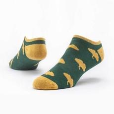 Maggie's Organics Green Ginkgo Footie Socks
