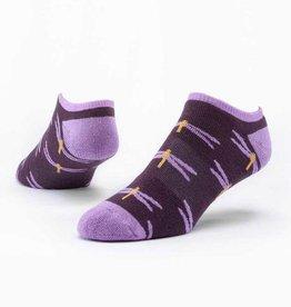 Maggie's Organics Purple Dragonfly Footie Socks