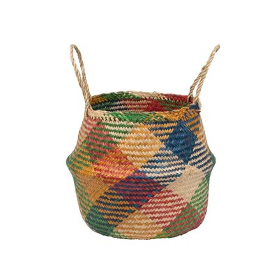 Ten Thousand Villages Sunny Day Collapsible Seagrass Basket