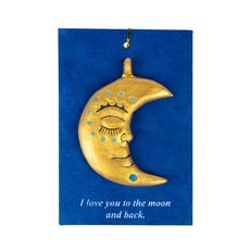 Ten Thousand Villages To The Moon and Back Ornament
