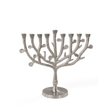 Ten Thousand Villages Tree of Life Menorah