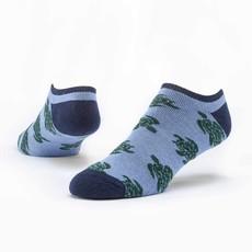 Maggie's Organics Blue Turtles Footie Socks