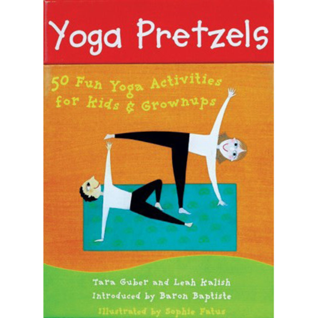 Barefoot Books Yoga Pretzels Activity Cards