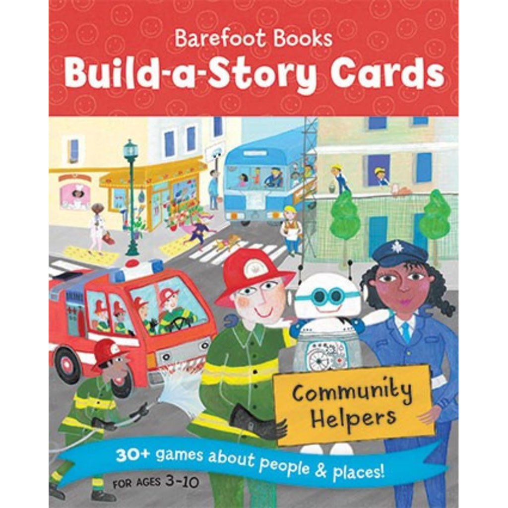 Barefoot Books Build A Story: Community Helpers
