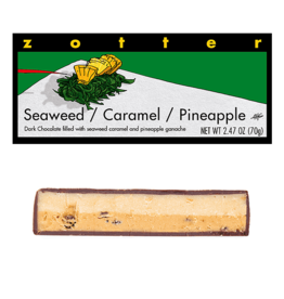 Zotter Chocolate Seaweed Caramel Pineapple Hand-Scooped Chocolate