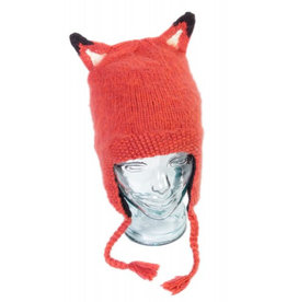 Andes Gifts Adult Animal Hat: Fox