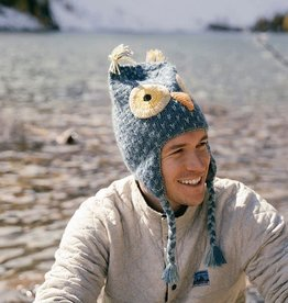 Andes Gifts Adult Animal Hat: Grey Owl