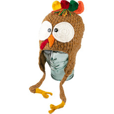 Andes Gifts Adult Animal Hat: Turkey