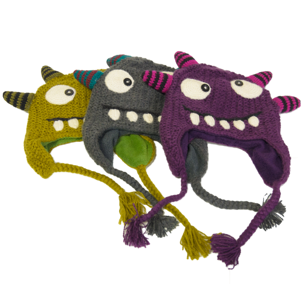 Andes Gifts Adult Monster Hat: Spike