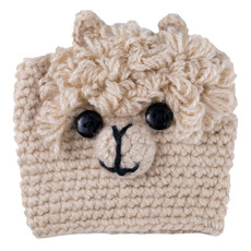 Andes Gifts Animal Cup Cozies: Alpaca